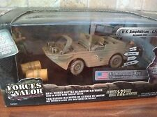 FORCES OF VALOR 1:32 SCALE US AMPHIBIAN GPA 3RD ARMOURED DIVISION NORMANDY 1944