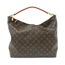 Authentic LOUIS VUITTON Monogram Sully MM M40587  #270-002-362-7915