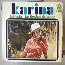 KARINA - LA FIESTA - SINGLE HISPAVOX 1968