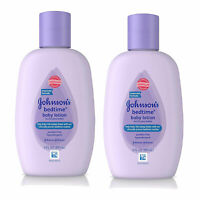 (2 Pack) NEW Johnson's Bedtime Baby Lotion 3 Ounces