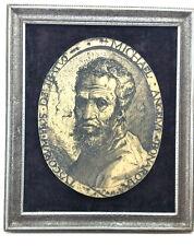 Michelangelo Bonarota picture in frame .