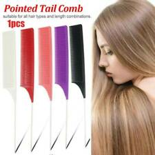 1Pc Plastic Heat-resistant Fine Weave Highlighting Foiling Hair Comb Brush Salon