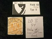 Deutschland Alliierte Besetzung Bizone ab 1945 - MiNr. 20 B  PF , BPP geprüft