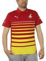 Puma Ghana Hoped Polo Herren rot gelb Fußball 744667 05