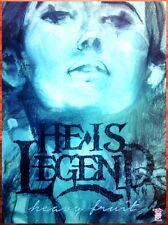 HE IS LEGEND Heavy Fruit Ltd Ed HUGE RARE New Poster +FREE Metal Poster! Few