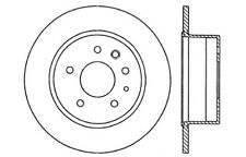 Centric Parts 125.35002 Rear Premium Brake Rotor
