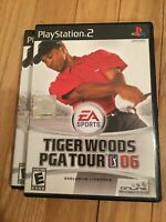 EA SPORTS TIGER WOODS PGA TOUR 06 - PS2 - COMPLETE W/MANUAL - FREE S/H (X)