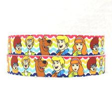 Scooby Doo 22MM Grosgrain Ribbon Craft Sewing Decoration Metre Yard Cartoon RB3