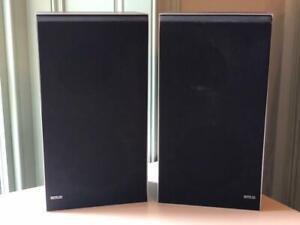 BANG & OLUFSEN B&O BEOVOX X25 VINTAGE SPEAKERS - FULL WORKING ORDER