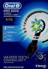 Oral-B Pro 3000 Smart Series Rechargeable Toothbrush, Bluetooth Smart