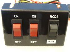 EVS 3-Way Beacon/Lightbar Switch Panel Wiring Loom (x2 On/Off and Mode Select)