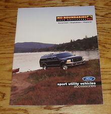 Original 2000 Ford Sport Utility Vehicles Accessories Brochure 00 Explorer