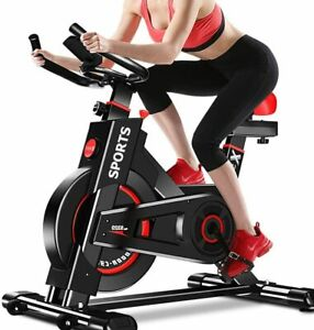 Exercise Bike Home Gym Indoor Stationary Fitness Workout Bike Bicycle Seat LCD