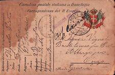 1917 FRANCHIGIA 49° FANTERIA BRIGATA PARMA - GENIO ZAPPATORI - DAL FRONTE C8-297