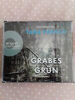 Grabes Grün von Tana French - Argon Hörbuch Krimi 6 CDs gelesen von David Nathan