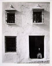 """Morley Bär signiert 1958 Original Foto - """"Haus in Minas, Augen geschlossen"""""""