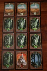 MTG land lot in LP/MP from Unglued