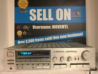 Vtg Kenwood KR-830 Computerized High Speed Stereo AM FM Receiver Silver Tested💯