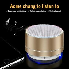 Portable Mini Speakers Bluetooth Wireless Bass TF/USB/AUX/FM For Smartphone Pad