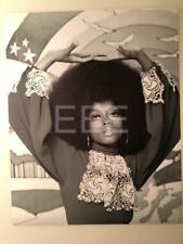 Diana Ross by Photographer Harry Langdon with Embossed Stamp Photo 47L