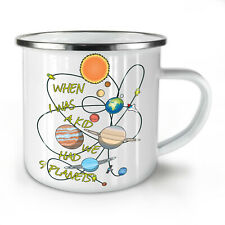 When I Was A Kid NEW Enamel Tea Mug 10 oz | Wellcoda