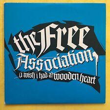 The Free Association - (I Wish I Had A) Wooden Heart - Promo CD (ENA286)