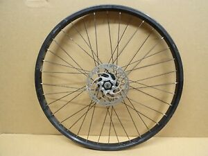 "Alloy 26"" Disc Front Wheel Quick Release Hub + 160mm Rotor 36 Spoke Double Wall"