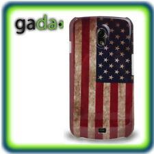 Custodia per Samsung Galaxy Nexus i9250 Case Borsa Protezione USA America bandiera Retro