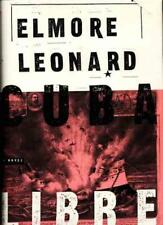 Cuba Libre Elmore Leonard SIGNED First Edition Historical Fiction