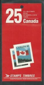 Canada Booklet BK169a Flag MNH Close