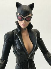 "Mattel Batman Arkham City Catwoman 6.5"" action figure (loose from 2pk)"