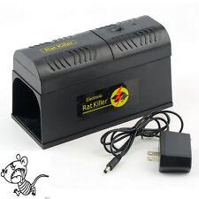 Electronic Mouse Mice Rat Trap Rodent Killer Victor Control Zapper Pest EU PlugY