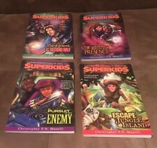 Lot of 4 : Commander Kellie And The Superkids #1-4 Paperback Books