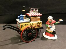 Dept 56 - Dickens Village - Christmas Bazaar Flapjacks & Hot Cider - 56596 - Mib