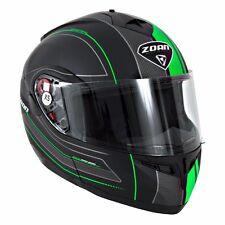 Zoan Optimus Modular Flip Up Snowmobile Helmet with Chin Strap Quick Release