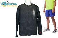Nike Air Ventilado Correr Camisa Algodón Negro XXL