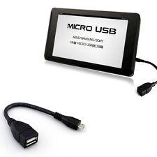 OTG Adaptador USB 2.0 A Hembra A Micro B Macho Convertidor Cable Para Samsung