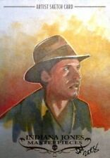 2008 Topps Indiana Jones Masterpieces Sketch Card Ingrid Hardy ONLY 44 MADE