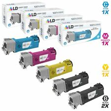 LD Compatible Xerox Phaser 6500 / WorkCentre 6505 Set of 5 High Yield Cartridges