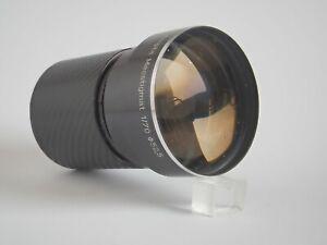 Projektorobjektiv Meopta Meostigmat 1/70 mm, umgebaut, mit Eigenbautubus Sony E