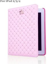 Princess iPad 2 3 4 Case for Girls and Women Fashion PU Leather Cover NEW BEST