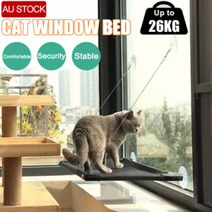 Up 60lbs Cat Bed Basking Window Hammock Perch Cushion Bed Hanging Shelf Seat Cat