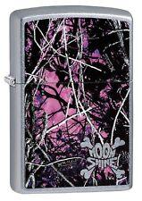 Zippo Windproof Moon Shine Camo Lighter, Moon Shine Muddy Girl 29591, New In Box