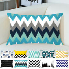 30x50cm Velvet Rectangle Geometric Cushion Cover/Pillow Case Home Sofa Decor