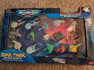 Micro Machines Star Trek Space  Ltd. Ed. Collector's Set