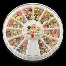 Decorazioni perla plastici per unghie