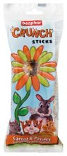 Beaphar Small Animal Crunch Sticks Carrot & Parsley 2pk X 6