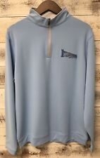 Peter Millar Blue Perth Pullover Size XL Sentinel Solutions Lighthouse Logo