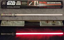 Star Wars SW-213 Master Replicas DARTH MAUL Force FX SINGLE BLADE led lightsaber