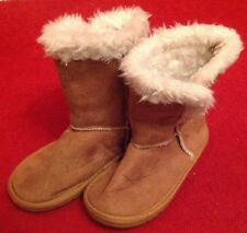Young Dimension Suede Like Fur Lined Boots UK 11 EU 29